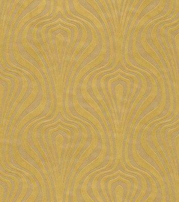 546002 rasch en suite glans vinyl op vlies goud