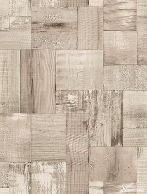 2050-3 trendy hout vlies behang