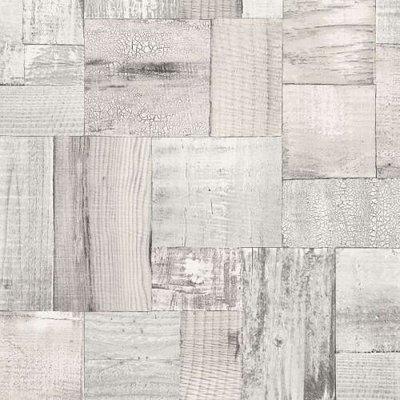 2050-4 trendy hout vlies behang