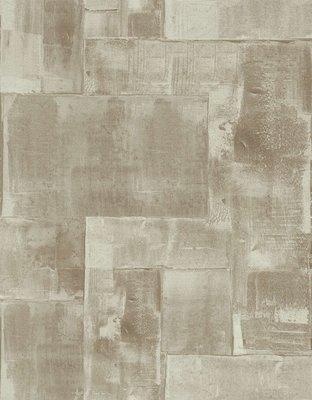 vlies bruin goud industrieel behang 2 foto andere kleur maar vb van patroon