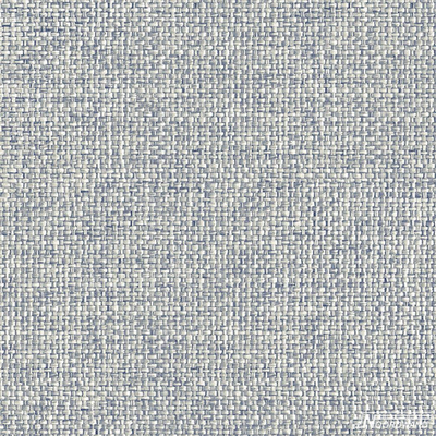 Noordwand Topchic 2059-4 riviera stijl riet grasweefsel met blauw tint