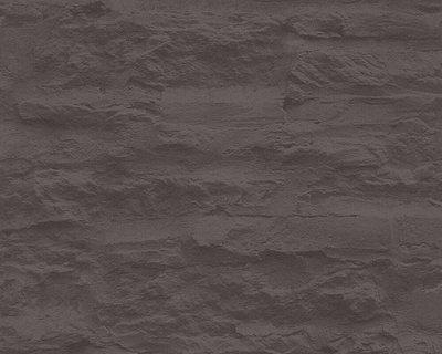 95908-2 antraciet zwart landelijke stenen muur vlies behang