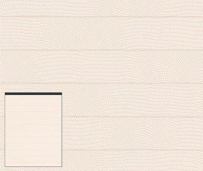 Rasch Cosmopolitan behang 575668  dierenprint leder optiek in rechthoek blok motief