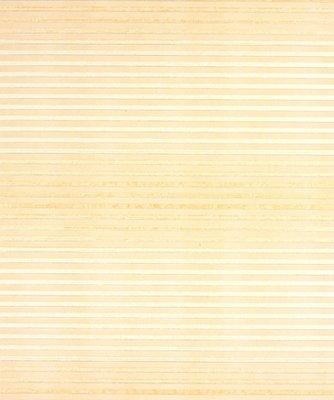 Geel behang met een breedte streep 538-2