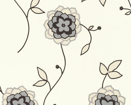 Afbeelding van 1228 65 bloemen ,met zilver/glitter
