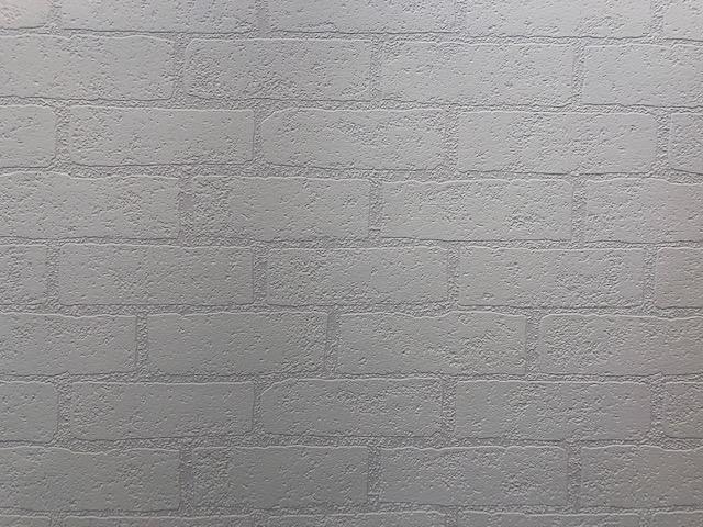 Afbeelding van 10032 structuur vinyl Wit Steenmotief