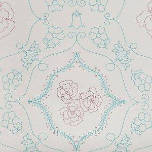 7241-5 flower barok vlies
