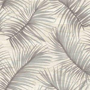 Behangexpresse Nubia (NU19142)beige grijs bladeren vlies