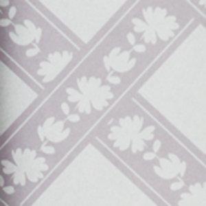 7240-5  floral squares vlies  wit met poeder roze