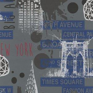 165-01 stoer industrieel new york urban vinyl op vlies