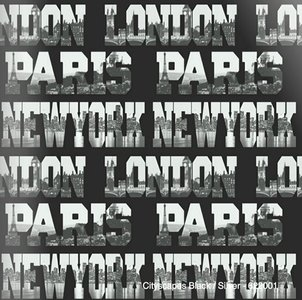 capitals of the world highlights city view papier