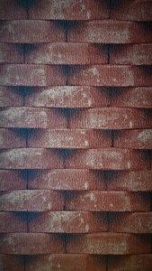 Brique rouge  ugepa  steen rood 3dstenen behang papier