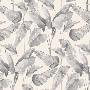 on the spot  trendy jungle leaves  vinyl op vlies