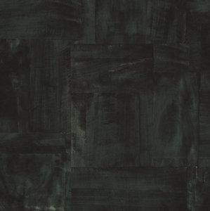 trendy stylish urban dark green squares vinyl op vlies