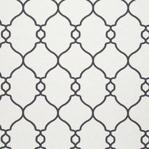 the art of living  designer collection antraciet wit grafisch vlies49440