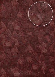 Arte Stitches ralph lauren type bloodred jeans relief vinyl op vlies  behang 5102-5