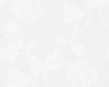 AS Creation Behang 95353-1 overschilderbaar vlies met bloem patronen