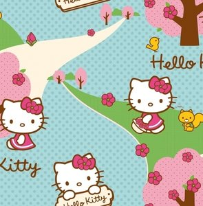 Noordwand Kids @ home 70-239 Hello Kitty
