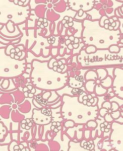 Hello Kitty Flock 70-227 nog maar 1 rol vorraad