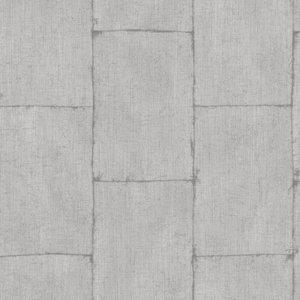 Dutch Wallcoverings Behang.Dutch Wallcoverings Textured Plains Behang Tp 3004 Metalic Zilver Staalplaten