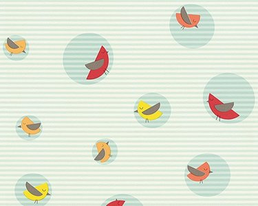 Esprit Kids 4 behang 30298-3 Bubble Birds