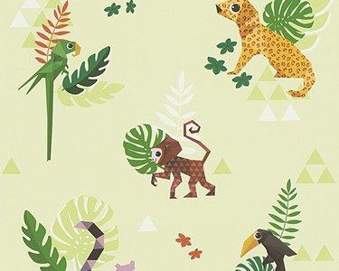 Esprit Kids 4 behang 30303-3 Jungle Party