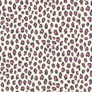 202946 luipaard  zwart wit roze met glitter