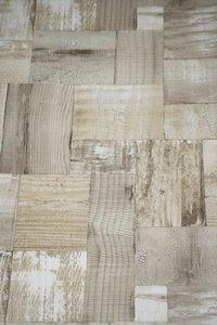 2050-1 trendy hout vlies behang