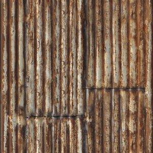 Graham & Brown vliesbehang 101497 roest platen